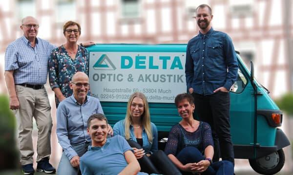 Das Team von Delta Optic und Delta Akustik